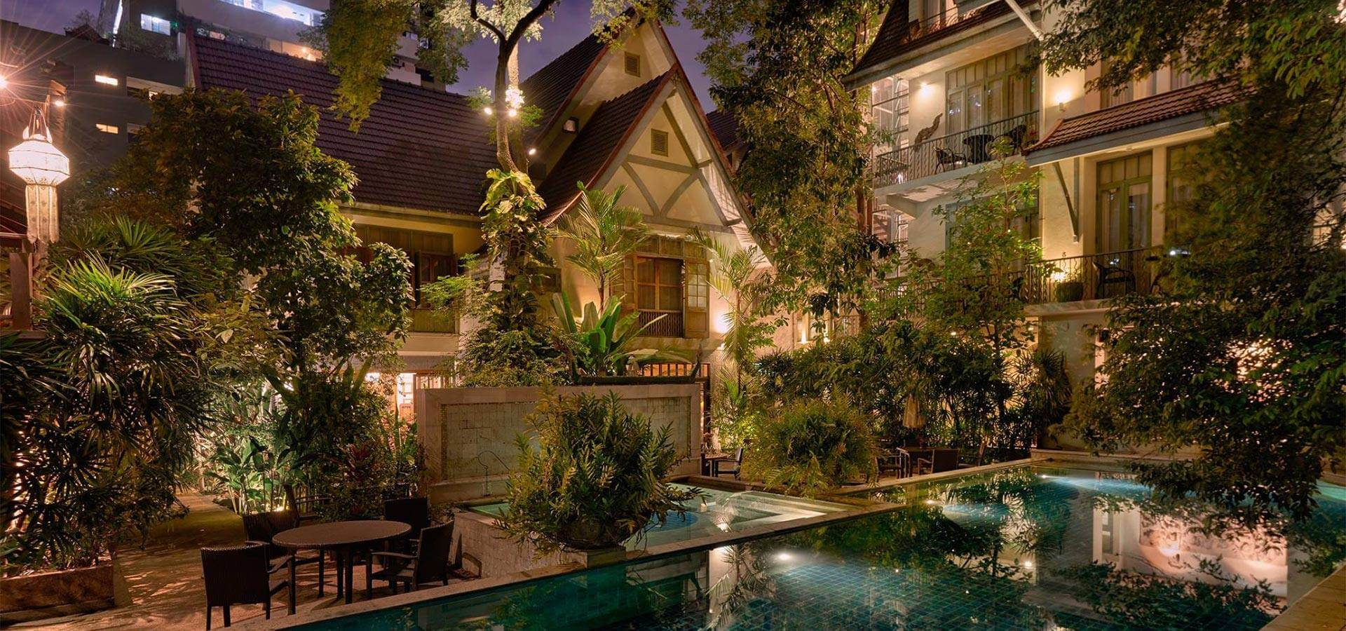 Small luxury Boutique Hotel and Spa in the heart of Bangkok, superbly ...
