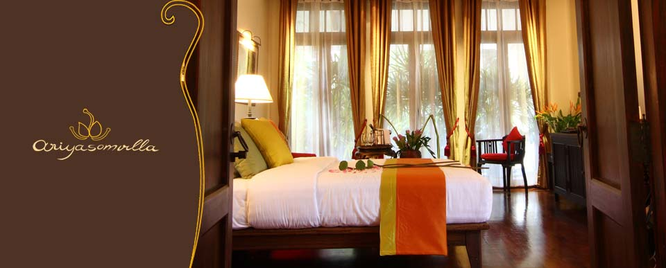 Ariyasomvilla luxury boutique hotel bangkok 5 star for Five star boutique hotels